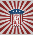 independence day sale background vector image vector image