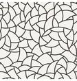 seamless mosaic pattern of polygonal vector image vector image