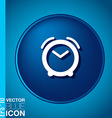 Symbol morning Alarm icon The clock shows the vector image vector image