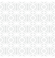White geometric texture in art deco style vector image vector image