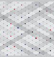 abstract modern stylish isometric pattern texture vector image vector image