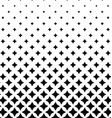 Black and white pattern background vector image vector image