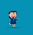 business togetherness concept teamwork vector image vector image