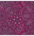 doodle seamless pattern background vector image