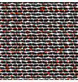 red and black abstract drawn blood wall vector image vector image