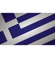greece flag vector image