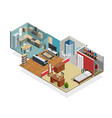 house interior concept vector image vector image
