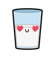 isolated milk design vector image vector image