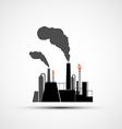 logo industrial plant vector image vector image