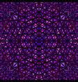 purple seamless kaleidoscope pattern background vector image vector image