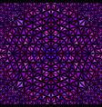 purple seamless kaleidoscope pattern background vector image