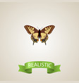realistic checkerspot element vector image