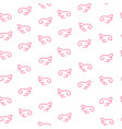 seamless pattern doodle vector image vector image