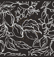 seamless pattern floral jungle vector image