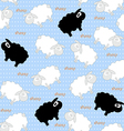 sheep seamless vector image vector image