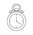 uncolored chronometer vector image