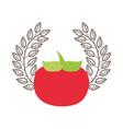 vegetable fresh organic vector image