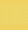 yellow pixel seamless background vector image vector image