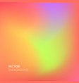 abstract blurred gradient mesh and living coral vector image vector image