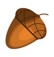 acorn icon cartoon thanksgiving day vector image vector image