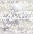 gray star background vector image