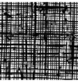 Messy Grid Texture vector image vector image