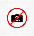 no photo icon sign symbol vector image