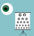 Ophthalmology icons set vector image