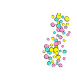 pop art background with comic polka dot confetti vector image vector image