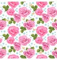rose seamless3 vector image vector image
