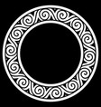 ancient round celtic scandinavian design celtic vector image vector image