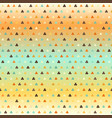 gradient shamrock pattern seamless vector image vector image