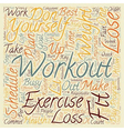 Lose Weight How to Exercise and Burn Fat on a Busy vector image vector image