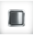 Metal box app icon vector image vector image