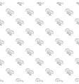 modern earrings pattern seamless vector image