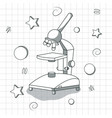 school science tool vector image