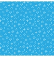 Seamless pattern with weather icons vector image vector image