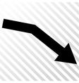 Fail Trend Icon vector image vector image