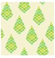 Green geometric abstract seamless pattern