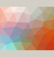 multicolored abstract geometric background vector image vector image