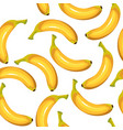 seamless texture of bananas vector image