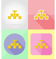 service flat icons 31 vector image vector image