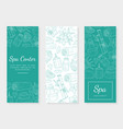 spa center health and beauty banner template