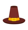 thanksgiving day hat traditional accessory vector image
