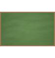 Blank Chalk Board vector image vector image