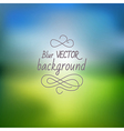 blur11 vector image
