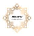 gatsby art deco background vector image vector image