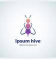 lorem ipsum hive technology absrtract sign