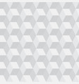 seamless cubic pattern background vector image vector image