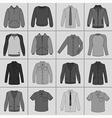 street fashion clothing 20 vector image vector image